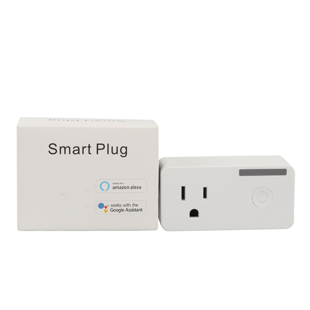 Smart Wifi Socket US Plug Remote Control Timing Switch Power Consumption Measurement Smart Home Automation Works With Alexa