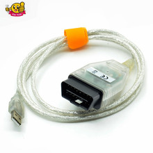 2017 New Arrival Single Cable Mini-VCI J2534 FOR TOYOTA TIS Techstream V10.30.029 Diagnostic Cable MINI VCI Free Shipping(China)