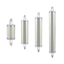 1X 5W 10W 12W 15W AC85-265V R7S Dimmable LED lamp 78mm 118mm 135mm 189mm J78 J118 J135 J189 For Lawn Floodlight Spot light Bulb