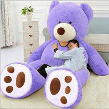 Huge Size 200cm 260cm 340cm Giant Bear Skin Huge Teddy Big Bear Comfortabling Super Quality Soft Toys for Girls HT3812