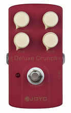 JOYO JF-39 Deluxe Crunch , Guitar AMP Effect Pedal True Bypass Distortion Pedal with High Gain(China)