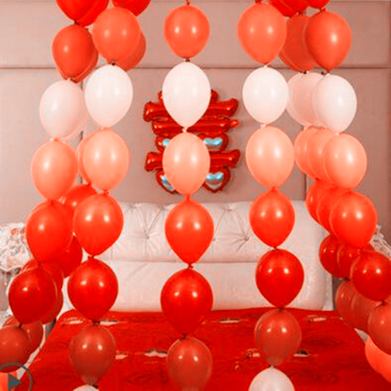 6 inch balloons [ 100 Piece Lot ] 3