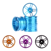 4PCS 52*26mm Aluminum Wheel Hub Rims for 1:10 RC On Road Drift Car HSP 94122 94123 Tamiya HPI Kyosho 1/10 Upgrade Parts