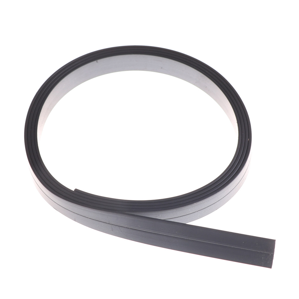 1PC Rubber Magnetic Tape 1000*10mm Flexible Soft Magnetic Rubber Magnet S p Tape for Home School Office