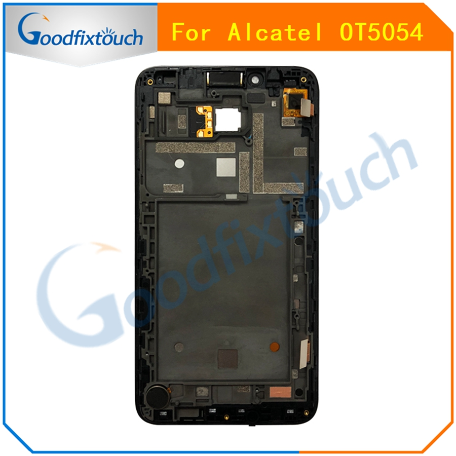 AT0207 For Alcatel One Touch Fierce XL OT5054 5054D 5054 5054N LCD Display Touch Screen Panel Digitizer Assembly With Frame  (4)