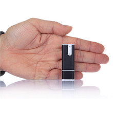 Mini Mp3 Player Black 3 in 1 USB Flash Drives 8GB Pen Disk Audio Voice Recorder MP3 Player Hidden Voice Recorder @tw(China)