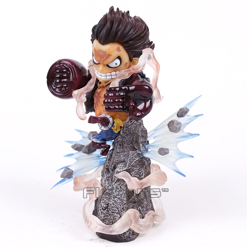 Anime One Piece Gear Fourth Monkey D Luffy Resin Statue Figure Collectible Model Toy 20cm<br>