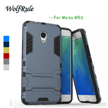 Meizu M5S Case Cover Meizu M5s 5.2'' Silicone WolfRule Plastic Case For Meizu M5S Case Phone Holder Meizu M 5S Mobile Funda(China)