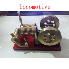 Cool !Miniature Stirling engine 'Locomotive' Stirling engine engine generator model hobby Educational Toy Kits