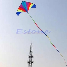 1pc 10M Super Nylon Stunt Rainbow Kite Tail Line Kite Accessory Kids Gift #H055#