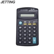 JETTING New 1PC Mini 8 Digit Electronic Calculator Battery Powered School Office Company(China)