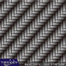 0.5*10M Carbon Fiber  Water Transfer Printing Film HT160-S, Hydrographic film, Hydro-dipping Pva Water Soluble Film