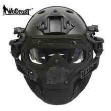 G4 System Set Tactical PJ Helmet Overall Protection Glass Face Mask Military Paintball Equipment - Airsoftfighting store