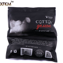 Buy 5bags/10 bags XFKM cotton Devil Organic Cotton Vape Cotton RDA RBA DIY Electronic Cigarette Atomizer for $6.87 in AliExpress store