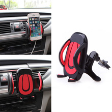 Universal Car Air Vent Air-vent Mount Cradle Phone Holder Stand Soporte Movil for iPhone 6/6s plus Samsung Galaxy S6 2016 DY-fly