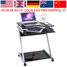 Computer Laptop Desk Table Keyboard Shelf Stand Rolling Laptop Home Office Study Table Z Style