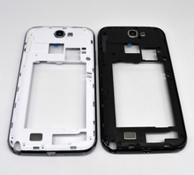 Original New Gray White Color N7100 Middle Frame Housing Repair For Samsung Galaxy Note 2 II N7100(China)