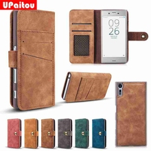Buy UPaitou Luxury 2 IN 1 Detachable Flip Wallet Cases Sony Xperia XZ F8331 Back Cover Sony XZ F8332 Dual Sim Leather Case for $8.99 in AliExpress store