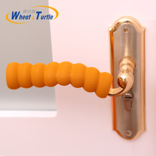 3Pcs /Lot Baby Children Kids Safety Supplies Room Doorknob Pad Cases Spiral Anti-Collision Security Door Handle Protect Cover(China)