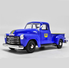 1:24 advanced alloy car models,high simulation 1950 Chevrolet 3100 Pickup model,metal casting,toy vehicles,free shipping