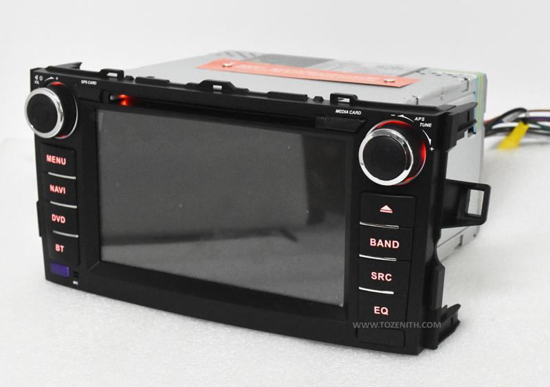 toyota auris corolla hatchback android car dvd radio 2 din radio android gps (10)