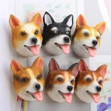 1pc Anime Dog Fridge Magnet Figures Stickers Animal Dogs Party Gifts Kitchen Fridge Magnet Home Decoration Accessories A35