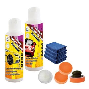 Voiture pâte à polir et de voiture cire de voiture peinture soins micro scratch remover nano polonais et cire produits de haut brillant effet 250 ml