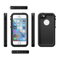 IP-68 Waterproof Heavy Duty Hybrid Swimming Dive Case For iPhone 5 / 5S SE 4.7 inch Water/Dirt/Shock Proof Phone Bag 1 pc