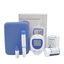 mmol/L and mg/dl Diabetic Blood Sugar Detection Blood Glucose Meter Glucometer Medidor de Glicemia +50 Strips & 50 Needles(China)
