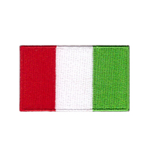 Italy flag patch Football match flags custom made football flags(China)