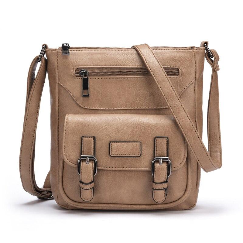 New Fashion PU Leather Handbag Women Cross Body Bag High Quality Lady Messenger Bags Bolsos Mujer Casual Female Shoulder Bag<br><br>Aliexpress