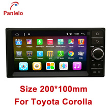 2 din Android 6.0 radio for Toyota Corolla 2001-2005 Car Multimedia Player Quad Core 2GB RAM 32GB ROM GPS Radio TDA7851L(China)