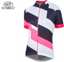 DW 100% Polyester 2017 Women Bike Jerseys MTB Pro Cycling Team clothing Bicycle Shirts Clothing Girls wear sportswear - 2016 Sales Store store