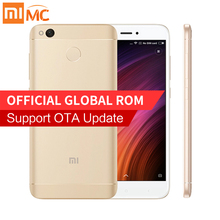 "Original Xiaomi Redmi 4X Smartphone 2GB RAM 16GB ROM Snapdragon 435 Octa Core 5.0"" HD Display 4000mAh Fingerprint 13MP MIUI 8.2"