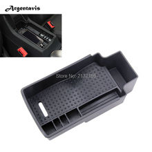 Car central armrest storage Box for Audi Q3 container holder tray box stowing tidying   Secondary accessories car styling
