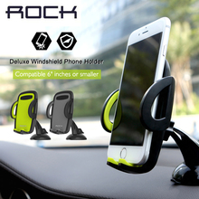 Rock Car Mobile Phone Holder For Iphone 6 plus 7 Plus suporte celular para carro for Galaxy s8 s8 plus S7 edge free shipping(China)