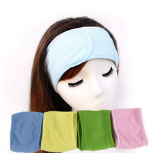 Practical tools Headbands Tenfolds sweat absorbing during exercise fitness fastening hair bands cosmetic thread gluing towel(China)