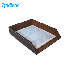 Office Files Documents Container-tray Desk Document A4 Print Papers Organizer Office School Supplies Desk Accessories(China)