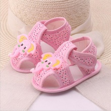Pink Blue baby girl boy first walker shoes Cartoon Elephant Baby Shoes Toddler  qo452
