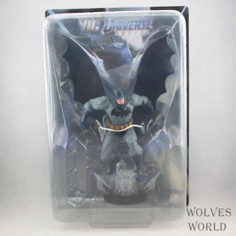 SAINTGI Juguetes Superman V Batman DC Marvel Dark Knight Mc Batman Super Hero Aptain PVC 20cm Predators Freddy Jason Figures<br>