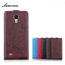 Lamocase Case For Samsung Galaxy S4 Mini I9190 I9192 I9195 GT-i9190 GT-i9192 GT-i9195 Duos GT-I9192I Embossing Leather Phone Bag