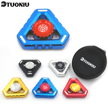 Buy 5 Color EDC Fidget Finger Spinner UFO Tri-spinner Hand Spinner Aluminum Alloy Fidget Toy Anxiety Stress Adults Kid Metal Spinner for $5.18 in AliExpress store