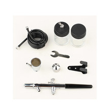 Nail Air Brush Spray Gun Kit Set Nail Art Make Up Tattoo Draw Painting Compressor