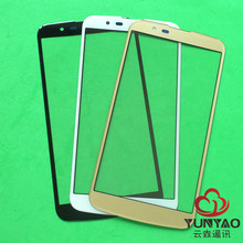 YunYao 50pcs/lot Replacement LCD Front Touch Screen Glass Outer Lens For LG K10 K410F M2 K430T K420N K430DS K430DSF(China)