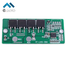 12.8V 40A 4S Lithium Iron Phosphate Battery Charger Protection Board PCB Balancing Equalized Overcharge Li-ion Battery Module