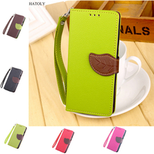 HATOLY For Motorola Moto G1 Flip Case Leather Wallet Case for Motorola Moto G1 XT1031 Soft Silicone Phone Cover Card Holder(China)