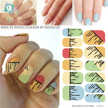 3D nail stickers 2rd Generation Waterproof Water Transfer Nail Sticker minx nail sticker Full Cover Sticker Decals adhesive foil