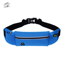 Tanluhu Outdoor Unisex Sport Running Waist Bags Nylon Sport Packs For Music With Headset Hole-Fits Smartphones Gym Bags(China)