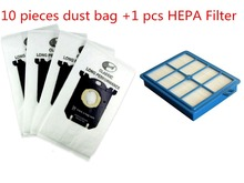 1pcs Replacement H12 HEPA Filter & 10pcs Dust Bag for Electrolux EFH12W AEF12W FC8031 EL012W Vacuum Cleaner S-BAG(China)