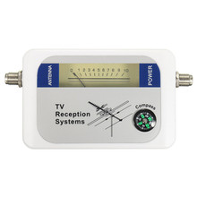 Mini DVB-T Finder Digital Aerial Terrestrial TV Antenna Signal Strength Meter DVBT With LCD backlight(China)